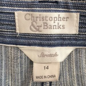 Christopher & Banks Skirts - New Christopher & Banks midi skirt size 14
